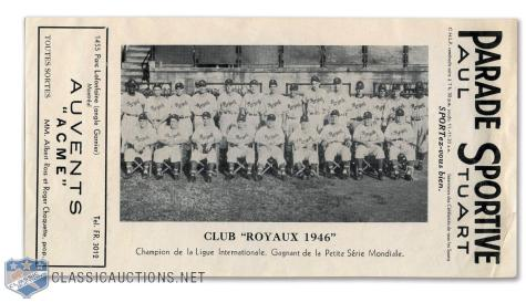 1946 Montreal Royals (Shuba)